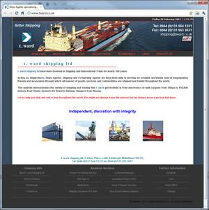 t.ward shipping
